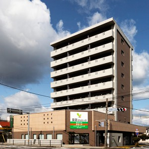 安武クリニック/大分市/鉄筋コンクリート造9F/2227.10㎡(クリニック:620.65㎡)/2008年